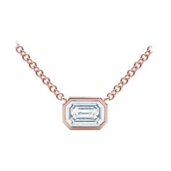 The Forevermark Tribute™ Collection Emerald Diamond Necklace