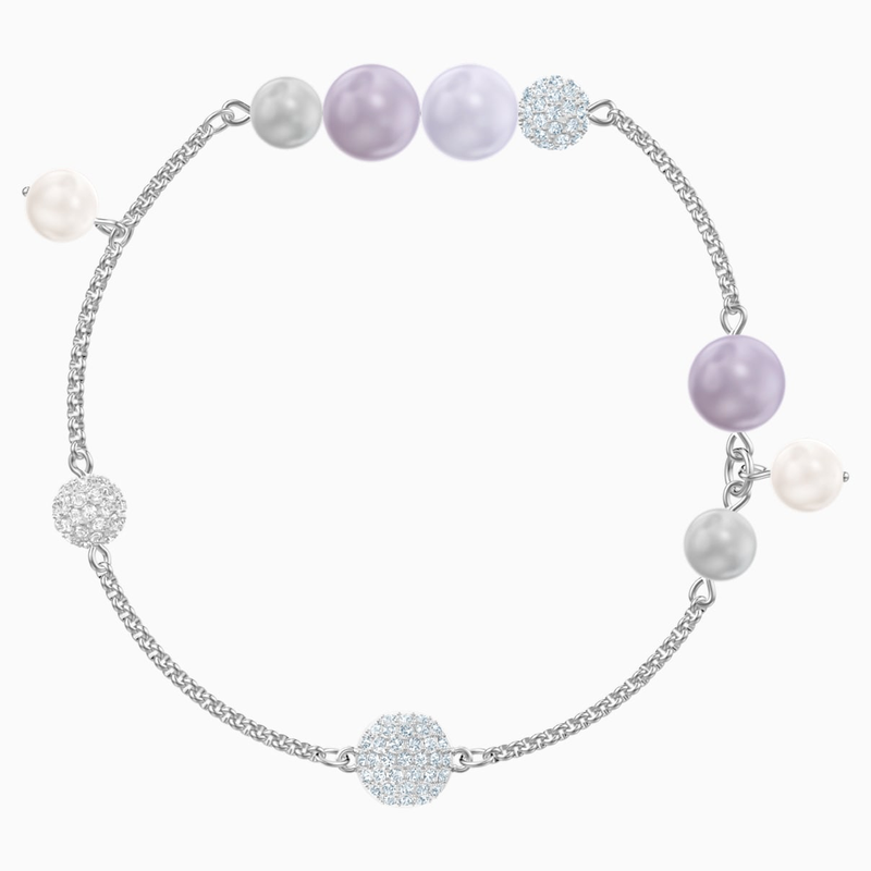 Swarovski Swarovski Remix Collection Pearl Strand, Multi-colored, Rhodium plated