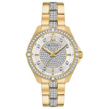 Bulova Crystals Collection Ladies Watch
