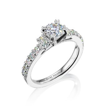 Engagement Ring 1 5/8 CTTW