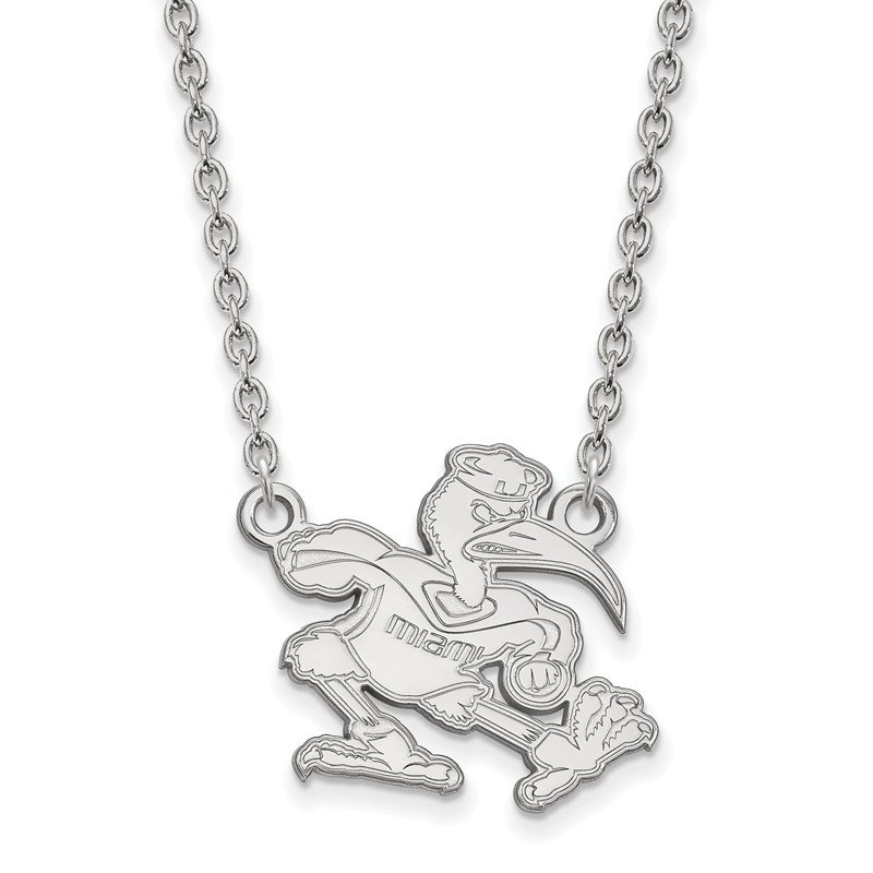 NCAA Gold University of Miami NCAA Necklace