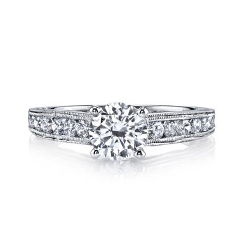 25836 Diamond Engagement Ring 0.60 ctw