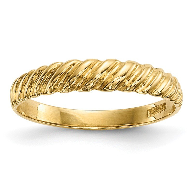 Quality Gold 14k Madi K Kids Polished Twist Ring