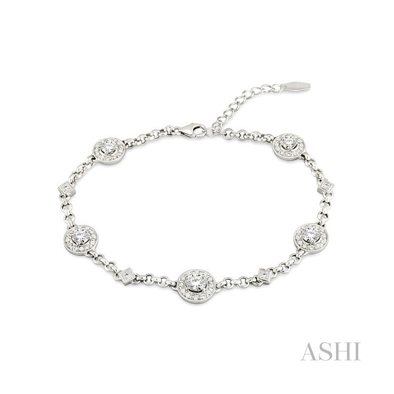 ASHI diamond bracelet