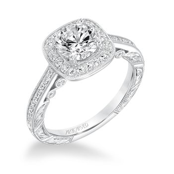 Artcarved Elspath Diamond Engagement Mounting