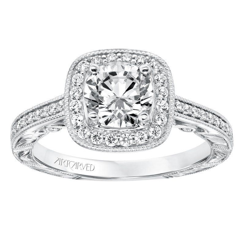 ArtCarved ArtCarved Elspath Diamond Engagement Mounting