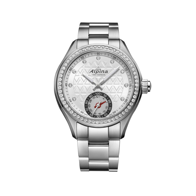 Alpina HOROLOGICAL SMARTWATCH QUARTZ CONNECTED VIA IOS AND ANDROID