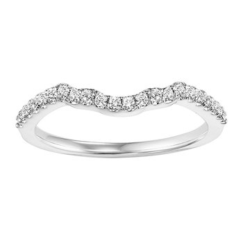 14K Diamond Matching Band 1/5 ctw