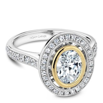 Noam Carver Fancy Engagement Ring R040-01WYA