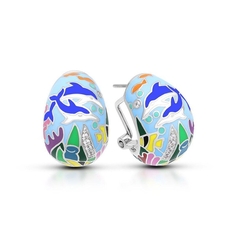 Belle Etoile Dolphin Earrings