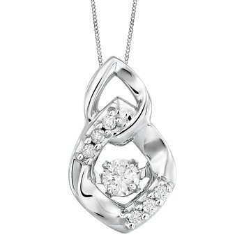 Forever Ice™ Twinkle™ Dancing Diamond™ Pendant