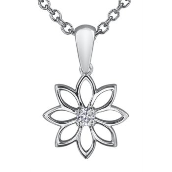 Maple Leaf Diamonds™ Solitaire Pendant, Seasons™ by Shelly Purdy