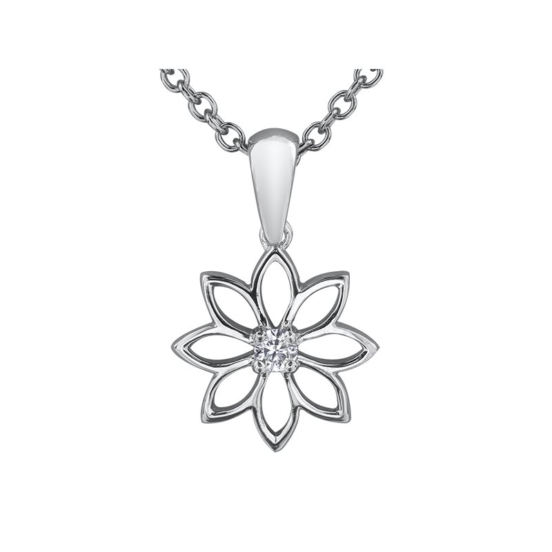 Maple Leaf Diamonds Maple Leaf Diamonds™ Solitaire Pendant, Seasons™ by Shelly Purdy