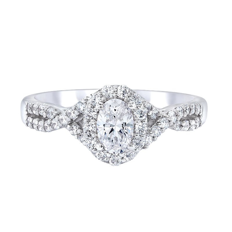 Love Story Infinity Engagement Ring by Love Story