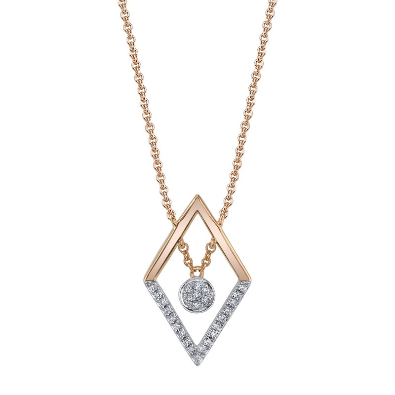 MARS Jewelry MARS 26850 Fashion Necklace, 0.07 Ctw.