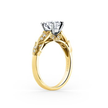 Botanical Diamond Engagement Ring