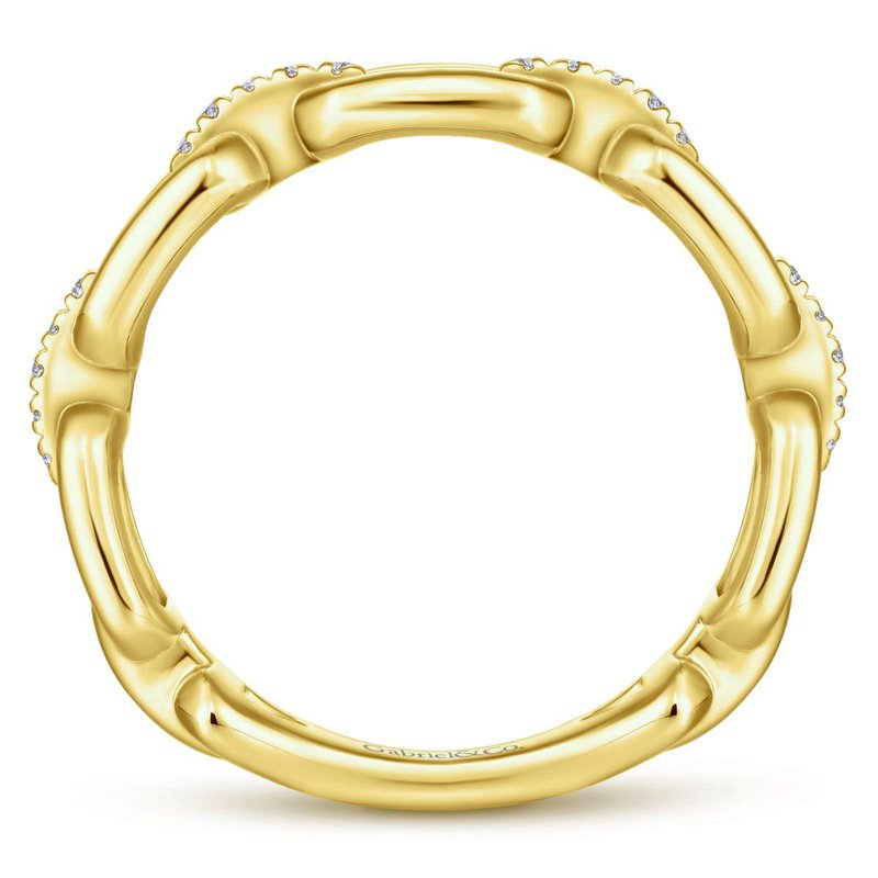 Amavida 14K Yellow Gold Fashion Ladies Ring