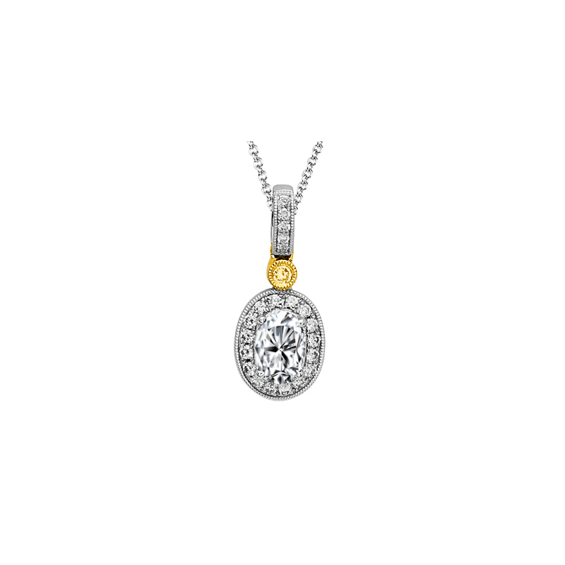 Simon G MP1348 COLOR PENDANT