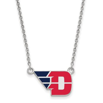 Sterling Silver University of Dayton NCAA Necklace