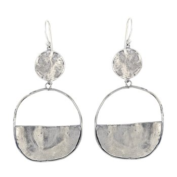 Vista Earrings - Sterling Silver