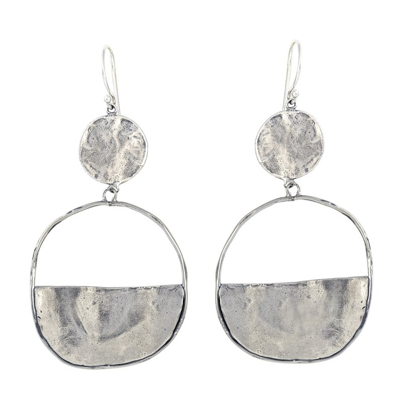 Waxing Poetic Vista Earrings - Sterling Silver