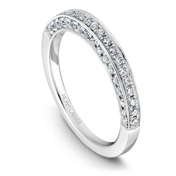 Noam Carver Wedding Band B003-01B