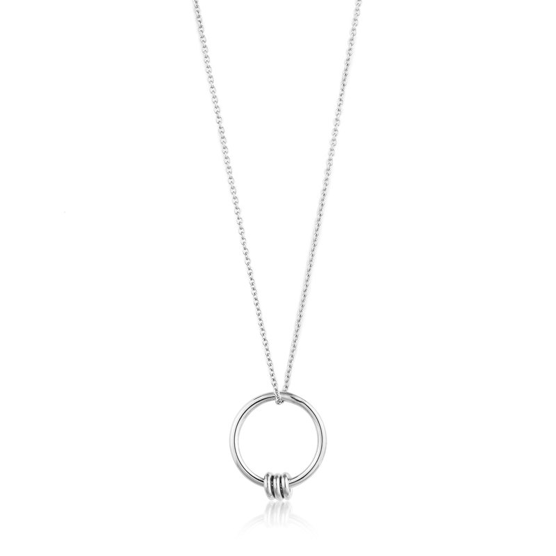 Ania Haie Modern Circle Necklace