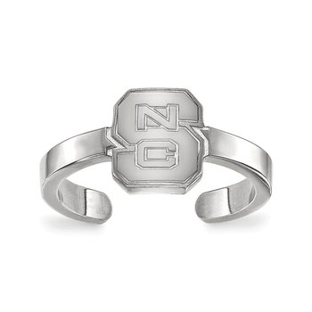 Sterling Silver North Carolina State University NCAA Ring