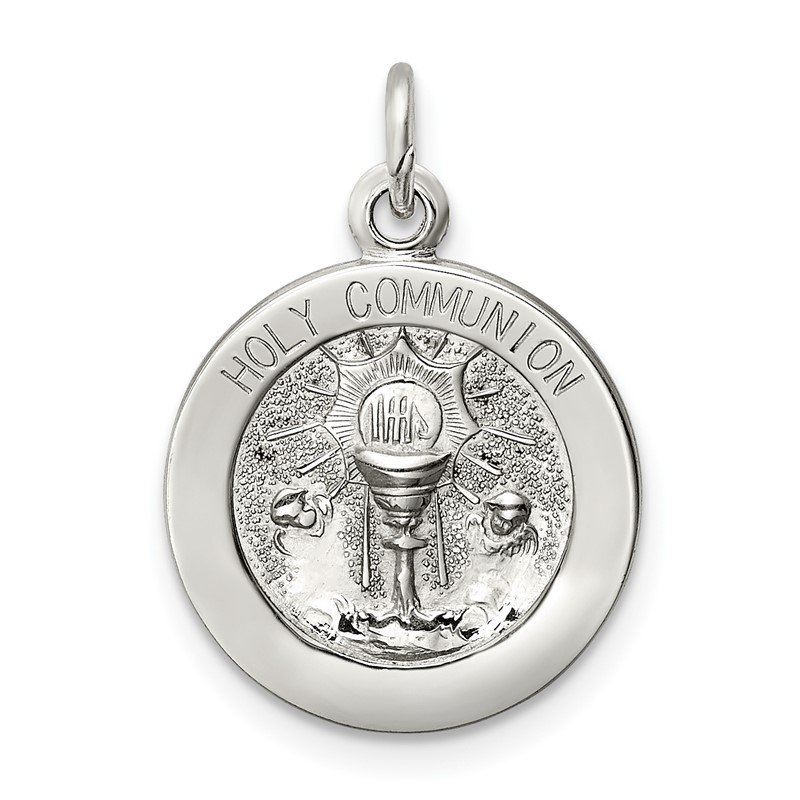Quality Gold Sterling Silver Holy Communion Medal