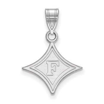 Sterling Silver Furman University NCAA Pendant