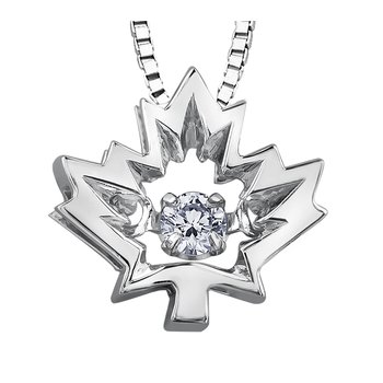 I am Canadian™ Northern Dancer™ Diamond Solitaire Pendant