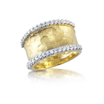 14K-Y GALLERY RING 0.50CT