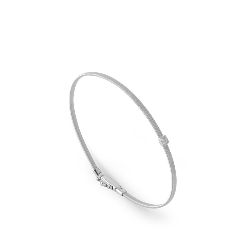 Marco Bicego Masai Single Station Diamond Bracelet in White Gold