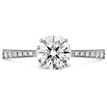 0.1 ctw. HOF Signature Engagement Ring-Diamond Band