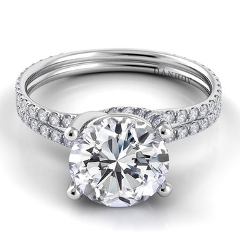 Eleganza Double Shank Engagement Ring
