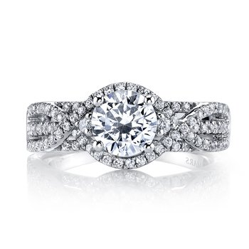 MARS 26203 Diamond Engagement Ring, 0.58 ct tw