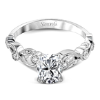 Simon G TR473-OV WEDDING SET