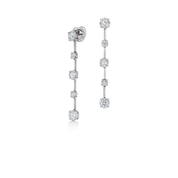 Cento Floating Diamond Earrings
