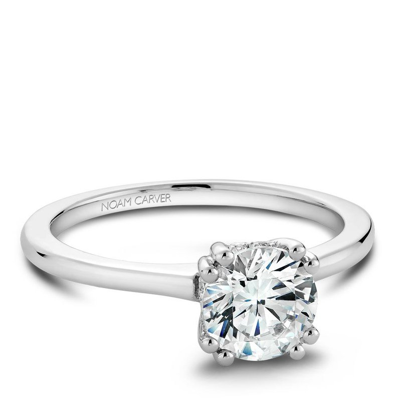 Noam Carver Modern Engagement Ring B004-04A
