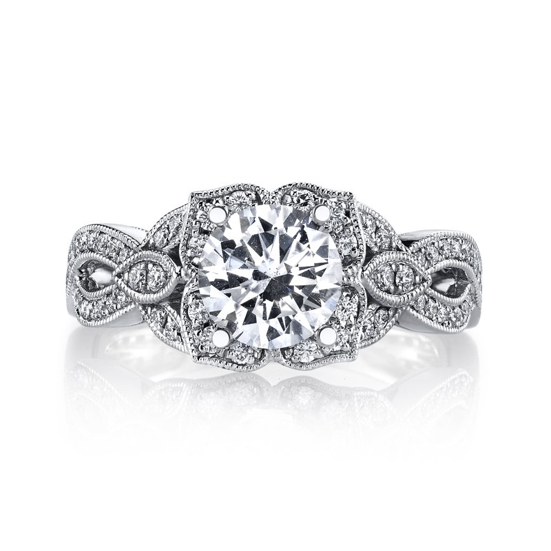 MARS Jewelry MARS 26592 Diamond Engagement Ring 0.44 Ctw.