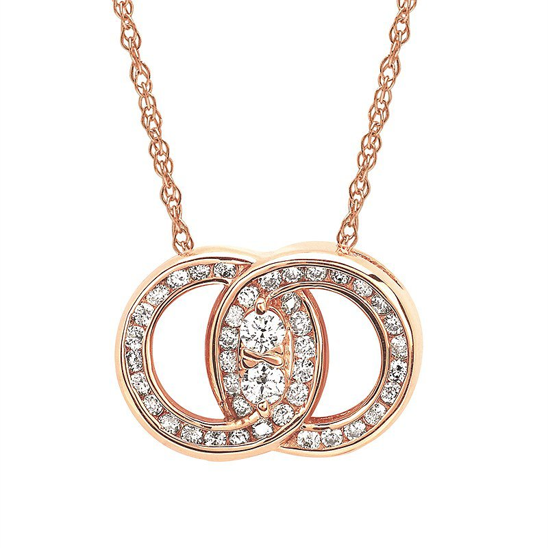 J.F. Kruse Signature Collection Pendant Rd V 0.25