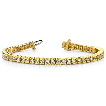 Tube Diamond Bracelet