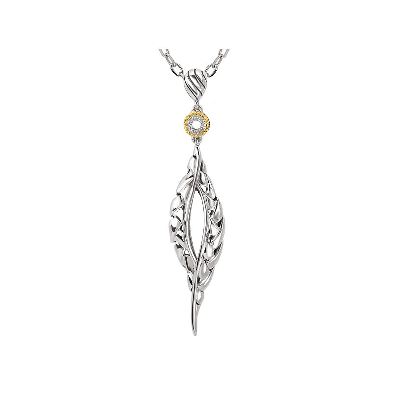 Eleganza Ladies Fashion Diamond Pendant