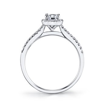 25373 Diamond Engagement Ring 0.20 ct tw