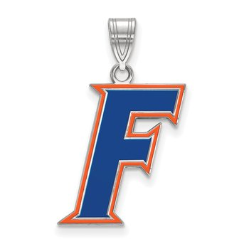 Sterling Silver University of Florida NCAA Pendant