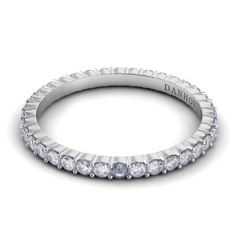 Carezza Flat Diamond Band