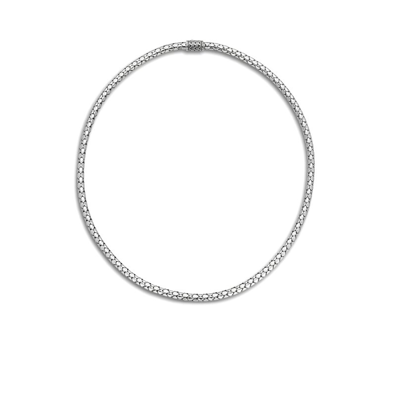 John Hardy Dot Slim Chain Necklace with Pusher Clasp, 18