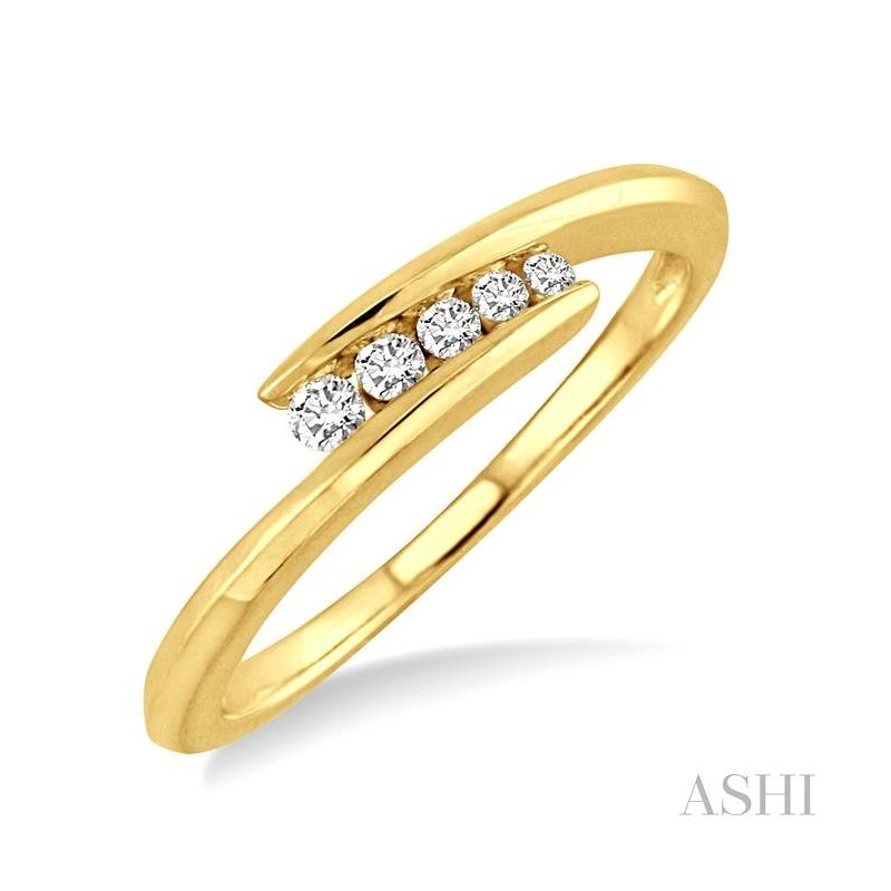 ASHI journey diamond ring