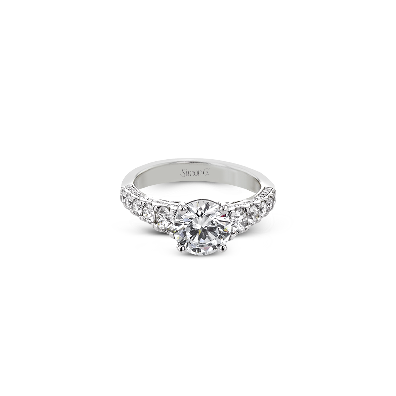 Simon G LR2785 ENGAGEMENT RING