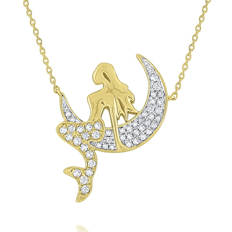 KC Designs Diamond Mermaid Necklace Set in 14 Kt. Gold